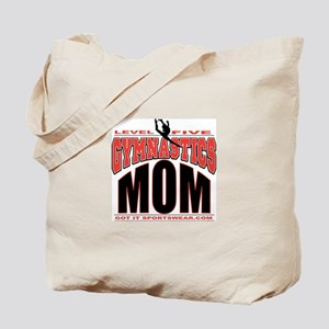Gymnastics Level 5 Mom Tote Bag