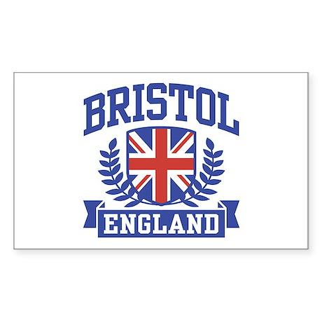 Bristol England Sticker (Rectangle)