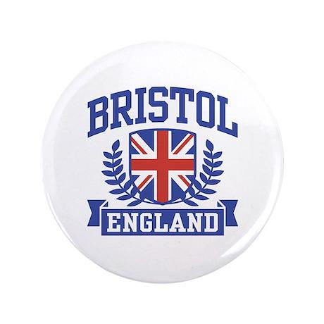 """Bristol England 3.5"""" Button"""
