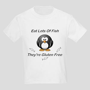 Eat Lots Of Fish Kids Light T-Shirt