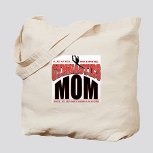 Gymnastics Level 9 Mom Tote Bag