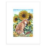 Sun Fox Small Poster