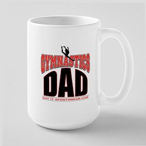 Gymnast's Dad Large Mug