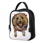 cutie poo Neoprene Lunch Bag