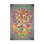 Mucha is my Homeboy Mini Poster Print