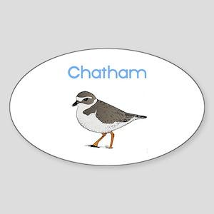 Chatham Sticker (Oval)