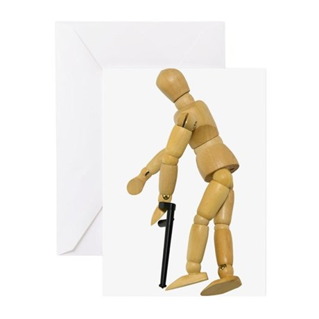 Using a Cane Greeting Cards (Pk of 10)