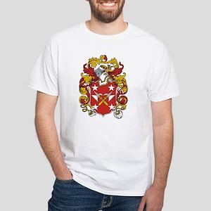 Pittman Coat of Arms White T-Shirt
