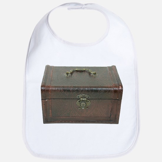 Fancy leather box Bib