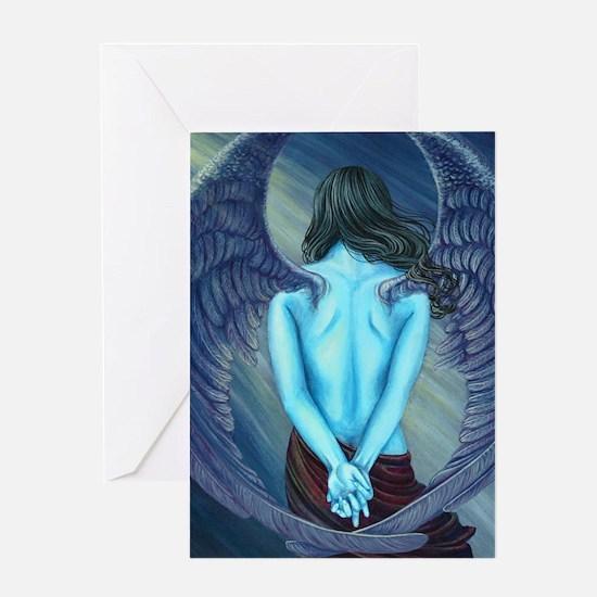 Solitude Angel Greeting Card