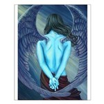 Solitude Angel Small Poster