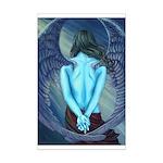 Solitude Angel Mini Poster Print