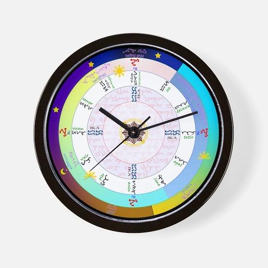 True Filipino Time Wall Clock