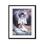 Dark Angel Framed Panel Print