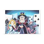 Queen of Hearts Mini Poster Print