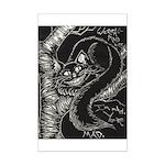 Cheshire Cat Mini Poster Print