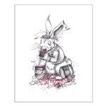 March Hare Small Poster