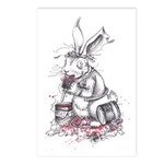 March Hare Postcards (Package of 8)