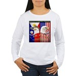 I AM FIL-AM Women's Long Sleeve T-Shirt