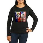 I AM FIL-AM Women's Long Sleeve Dark T-Shirt