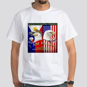 I AM FIL-AM White T-Shirt
