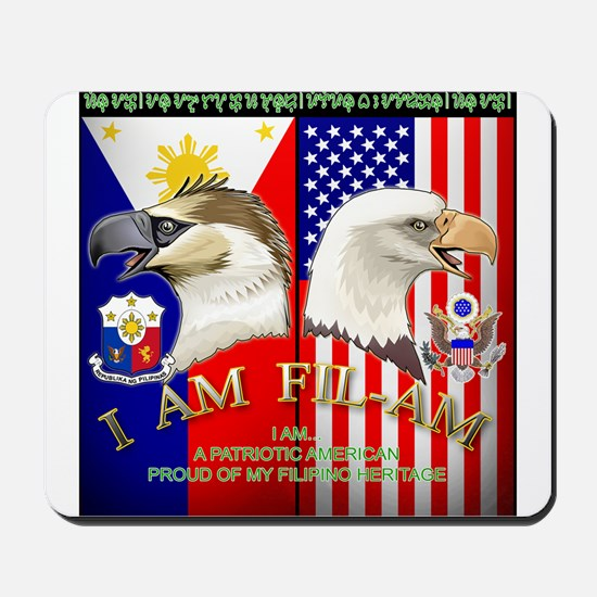 I AM FIL-AM Mousepad