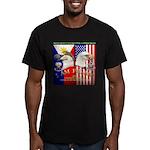 I AM FIL-AM Men's Fitted T-Shirt (dark)