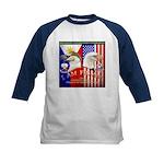 I AM FIL-AM Kids Baseball Jersey