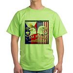 I AM FIL-AM Green T-Shirt
