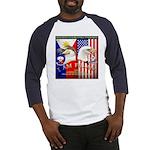 I AM FIL-AM Baseball Jersey