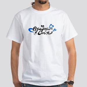Agape Love White T-Shirt