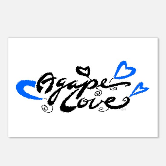 Agape Love Postcards (Package of 8)