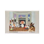 THE LAST BREAKFAST mijares'81 Magnets 10-pack