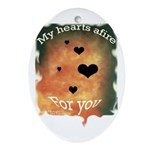 Oval Keepsake for Valentines Day!!