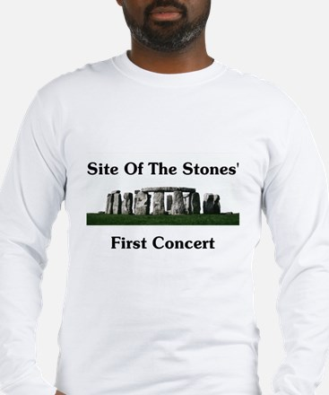 Site Of Stones' Concert Long Sleeve T-Shirt