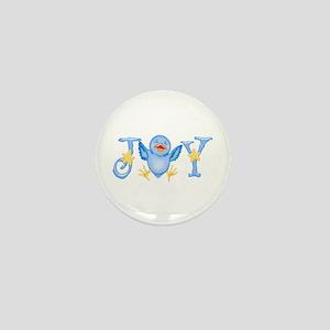 Joy: Bluebird Mini Button