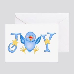 Joy: Bluebird Greeting Cards (Pk of 10)