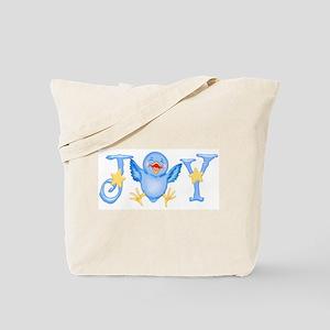 Joy: Bluebird Tote Bag
