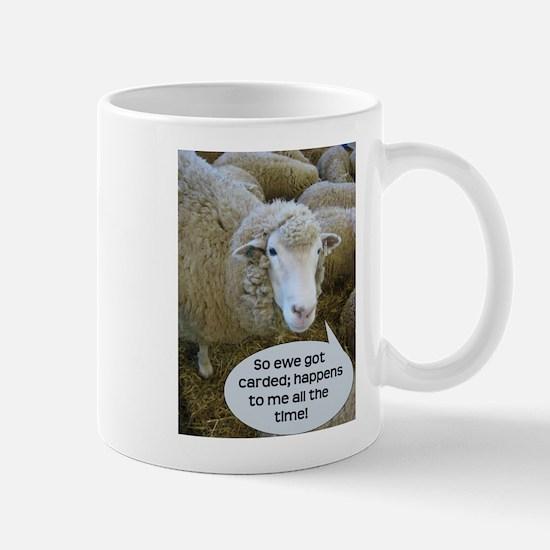 Carded, eh? Mug