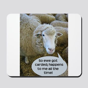 Carded, eh? Mousepad