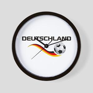 Soccer DEUTSCHLAND Wall Clock