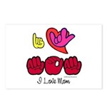 I-L-Y Mom Postcards (Package of 8)