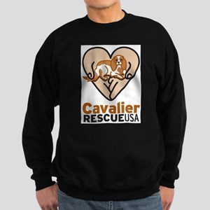 Cavalier Rescue USA Logo Sweatshirt