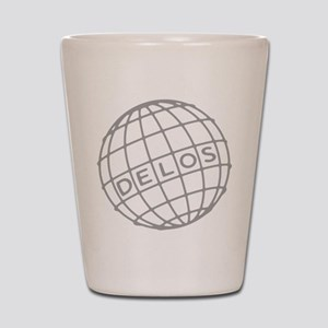 Westworld Delos Globe Shot Glass