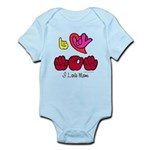 I-L-Y Mom Infant Bodysuit