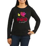 I-L-Y Mom Women's Long Sleeve Dark T-Shirt