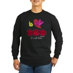 I-L-Y Mom Long Sleeve Dark T-Shirt