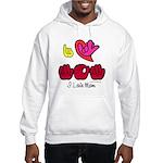I-L-Y Mom Hooded Sweatshirt