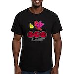 I-L-Y Mom Men's Fitted T-Shirt (dark)