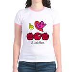I-L-Y Mom Jr. Ringer T-Shirt